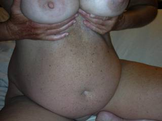 My lady's awesome tits