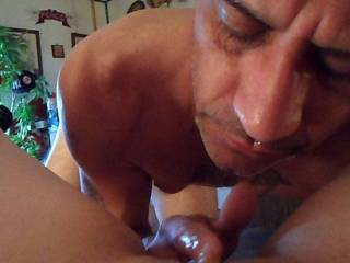 He knows how to make me cum repeatedly he is a master n he's mine :)