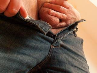 My cock don't fit in these jeans