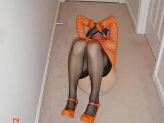 Spread my legs please...