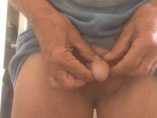 i like showing my circumcised cock