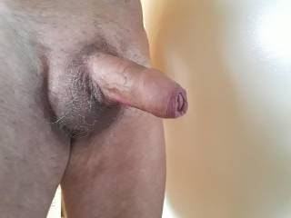 A nice close-up for uncut cock lovers.