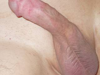 My small smooth shaven circumcised dick I\'m sharing with you !
