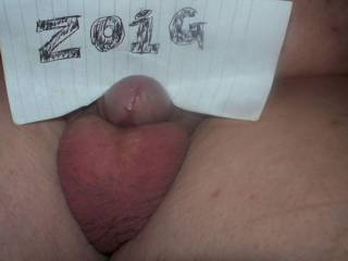 My real shaved cock and balls. Would you...?