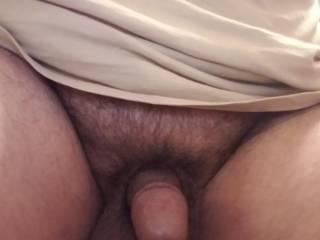 Peeled back my foreskin