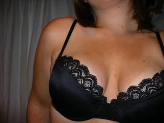 allways sexy: black lace on a woman! gets my dick started immediately! do you wanna witness that?