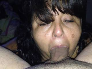 Your cock must be so happy with so many bj variety... Love mature cocksuckers ;-)