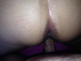 he took a nice picture of my ass and hole as he fucked my wet pussy.  Teasing me that I\'d like another cock in my ass just as much as he would.  We love sharing our intimate photos with you.  We love hearing all the naughty and playful things you would li