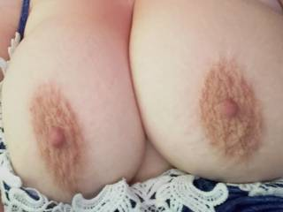 Hubby loves these types of photos with my nipples are erect and wanting to be sucked.