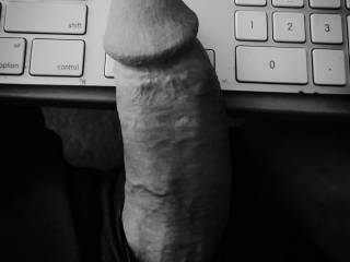 It's been a while... I'm back. Posting an art pic... because black and white makes it art right? Did anyone miss me?