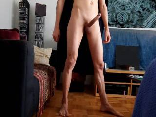 I love to show my cock to all of you