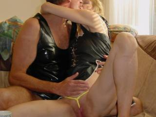 Thats beautiful. I love the way the g string goes between your hot lips xooxox peter