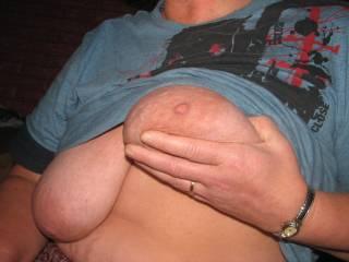 wifes saggy tits like it