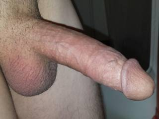 I'd like to see that in pushing slowly into my wifes pussy