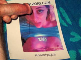 adaddysgirll makes my hard cock ache and my pre-cum drip from my swollen tip  }:)
