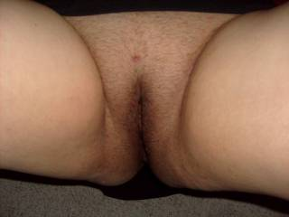 Her nice looking white,tight pussy was waiting for me to fuck it real good.