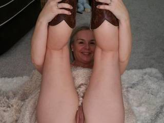 Legs up boots up