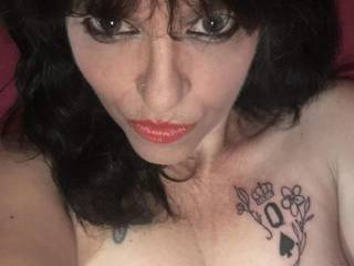 Told my husband I had some errands to run and came home with tattoo..now I can show off what I am..A BBC slut