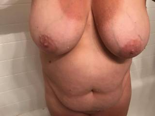 well..who wants to titty fuck my wife