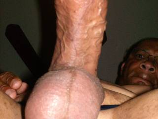 How do you like this view? I\'d love to feel a hot wet tongue licking me in this position!!!