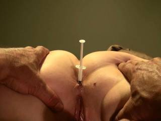 You could always use it in reverse suck the pre cum from my dick and use that as ass lube ;)