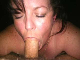 Yummy she took the whole cock