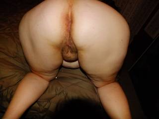 What a vision.... Thick warm ass cheeks juicy pink pussy!