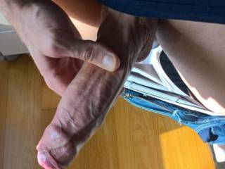 It is my uncut dick