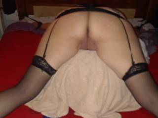 Wife tied to the bed. Waiting to be punished !! How would you publish her ??