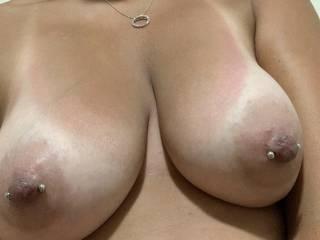 My wife's amazing tits