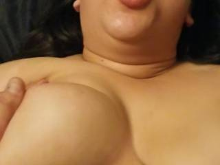 Love seeing her big tits while i fuck her