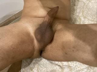 Suck on my hard cock. ;)