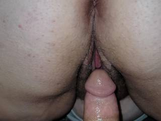 pussy is nice and wet and tight