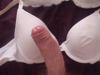 I bet you love to have that wrapped around your cock while you jerk off  Try a front closure bra Works much better  trust me
