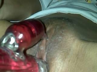 Rabbit full insertion....