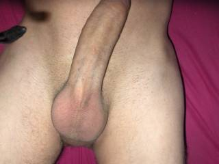 Your gorgeous dick would fit perfectly in any of my three holes... You make me feel a great need to be penetrated NOW!!!