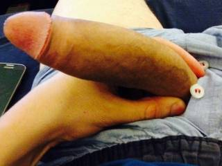 That is a very nice cock. Shove it in my mouth and I will mumble the answer.