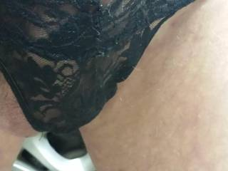 love to put Judys on !! then cum ove and we could both stroke in panties and nylons