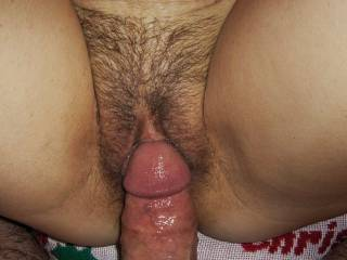her pussy is beautiful !! nice cock also