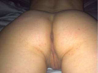 I would slap your ass rosy, spread your pussy, and bury my cock in you. So hot!!!