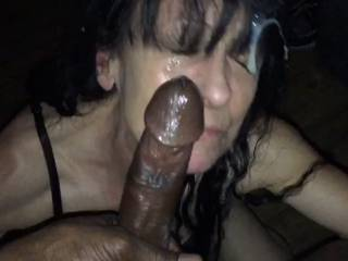 Messy facials are always a massive turn on would you like to add to this load?