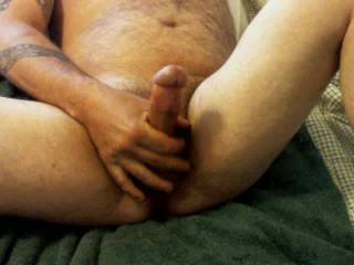 Stroking a hot cumload out for a zoig friend!!