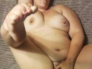 Horny Nicky is a bad ass bitch weather she is on her back, pussy spread, legs up and toes curling or she is face down ass up and is always a good fuck with her loud moans and tight pussy it\'s hard not to explode.