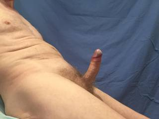 Would you like to do anything with my smooth, shiny and swollen glans before i slide it inside you so that we can start to fuck?