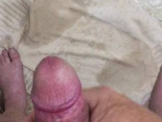 Just rubbing one out before a shower any ladies like a tribute just ask