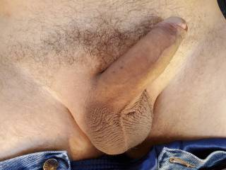 Showing off before a beautiful lady gave me a blow job