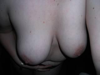 MY wife\'s beautiful tits!