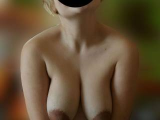 I want to find out how sensitive you are. I want to squeeze one of those sweet tit while I suck and lick the other. I want to see if I can make you cream without touching your pussy.