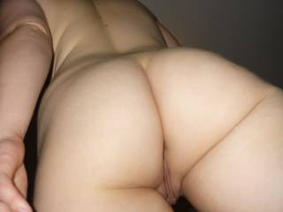 Another HOT view of your GORGEOUS ASS CHEEKS and LONG TASTY ASS CRACK, I want to kiss and lick them - all day and night!!!!!!