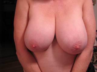magnificent tits hon, I would love to see the rest of your body; I'll bet it's just as fine.